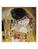El beso (detalle) Láminas por Gustav Klimt