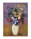 Blumenvase, 1914 Poster von Odilon Redon