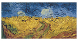 Wheatfield with Crows, 1890 Posters av Vincent van Gogh