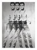 Triple Elvis®, 1963 Kunstdrucke von Andy Warhol