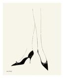 Untitled (Pair of Legs in Highheel), c. 1958 Plakater