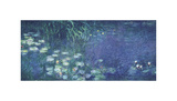 Water Lilies: Morning Giclee Print by Claude Monet