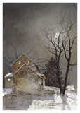 Working Late Poster by Ray Hendershot