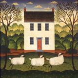 Casa Blanca Lámina por Diane Ulmer Pedersen