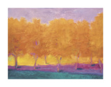Yellow Trees Plakater af Wolf Kahn