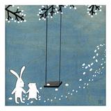 Follow Your Heart - Let's Swing Plakat af Kristiana Pärn