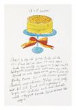 Wild Raspberries by Andy Warhol and Suzie Frankfurt, 1959 (orange and yellow) Kunstdrucke von Andy Warhol