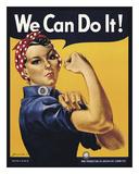 We Can Do It! Taide tekijänä J.H. Miller
