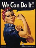 We Can Do It! Plakater av J.H. Miller