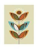 Flower Pop 2 Kunstdrucke von Linda Ketelhut