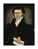 Gentleman of Squire Williams House, ca. 1829 Posters af Erastus Salisbury Field