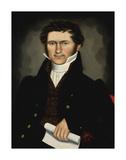 Gentleman of Squire Williams House, ca. 1829 Posters av Erastus Salisbury Field