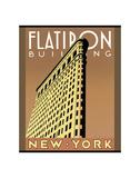 Flatiron Building Plakat af Brian James