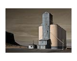 Grain Elevator Affiches par David Lorenz Winston