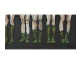 Green Socks Posters af Kara Smith