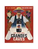 Grandes Caves Kunstdrucke