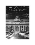 Grand Central Station at Night Posters par Chris Bliss