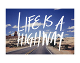Life is a Highway Stampe di Leah Flores