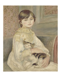 Julie Manet, 1887 Posters af Pierre-Auguste Renoir