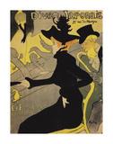 Le Divan Japonais Láminas por Henri de Toulouse-Lautrec