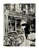 Left Bank Affiches par Loui Jover