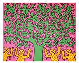 KH01 Kunstdruck von Keith Haring