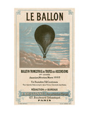 Le Ballon, Paris Plakat av  Vintage Reproduction
