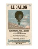 Le Ballon, Paris Poster di  Vintage Reproduction