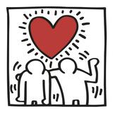 KH03 Láminas por Keith Haring