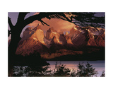 Mountain Refuge Art par Art Wolfe