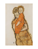 Mother and Child Poster by Egon Schiele