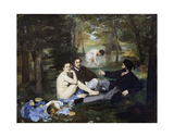 Luncheon on the Grass, 1863 Print by Edouard Manet