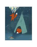 Mr. Fox's Brilliant New Ideas Posters af Kristiana Pärn