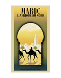 Maroc L'Afrique du Nord Pôsters por Steve Forney