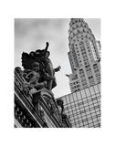Mercury Statue and Chrysler Building Posters par Chris Bliss