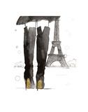 Meet me in Paris Art par Jessica Durrant