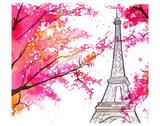 Paris for Grandma Poster par Jessica Durrant