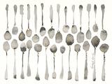 Orchestra of Spoons Stampa giclée di Bridget Davies