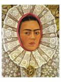 Autoritratto 1948 Posters av Frida Kahlo
