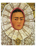 Autoritratto 1948 Poster by Frida Kahlo