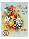 Beckert Seed Allegheny PA 1906 Poster