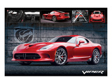 Chrysler - Dodge Viper Print