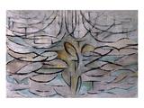 Flowering Apple Tree Reproduction giclée Premium par Piet Mondrian