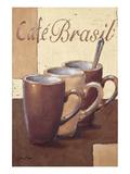 Cafe Brasil Posters par Bjoern Baar