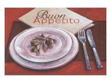 Buon Appetito Affiches par Bjoern Baar