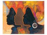 Black Triplets Poster van  Joadoor