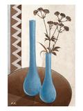 Harmony in Blue & Brown II Plakat af Karsten Kirchner