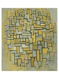 Composition in Brown Art par Piet Mondrian