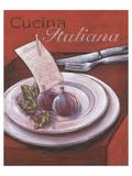 Cucina italiana Reproduction giclée Premium par Bjoern Baar