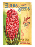 Ferry & Co. Seeds Detroit MI Póster